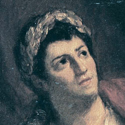 A painting of Nero.