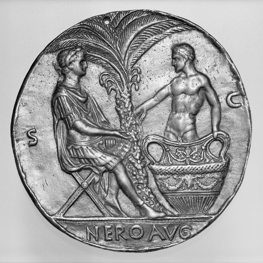 Nero and the dying Seneca, after a design by Master of the Roman Emperors, c. 1445. The Metropolitan Museum of Art, The Erich Lederer Collection, Gift of Mrs. Erich Lederer, 1986.