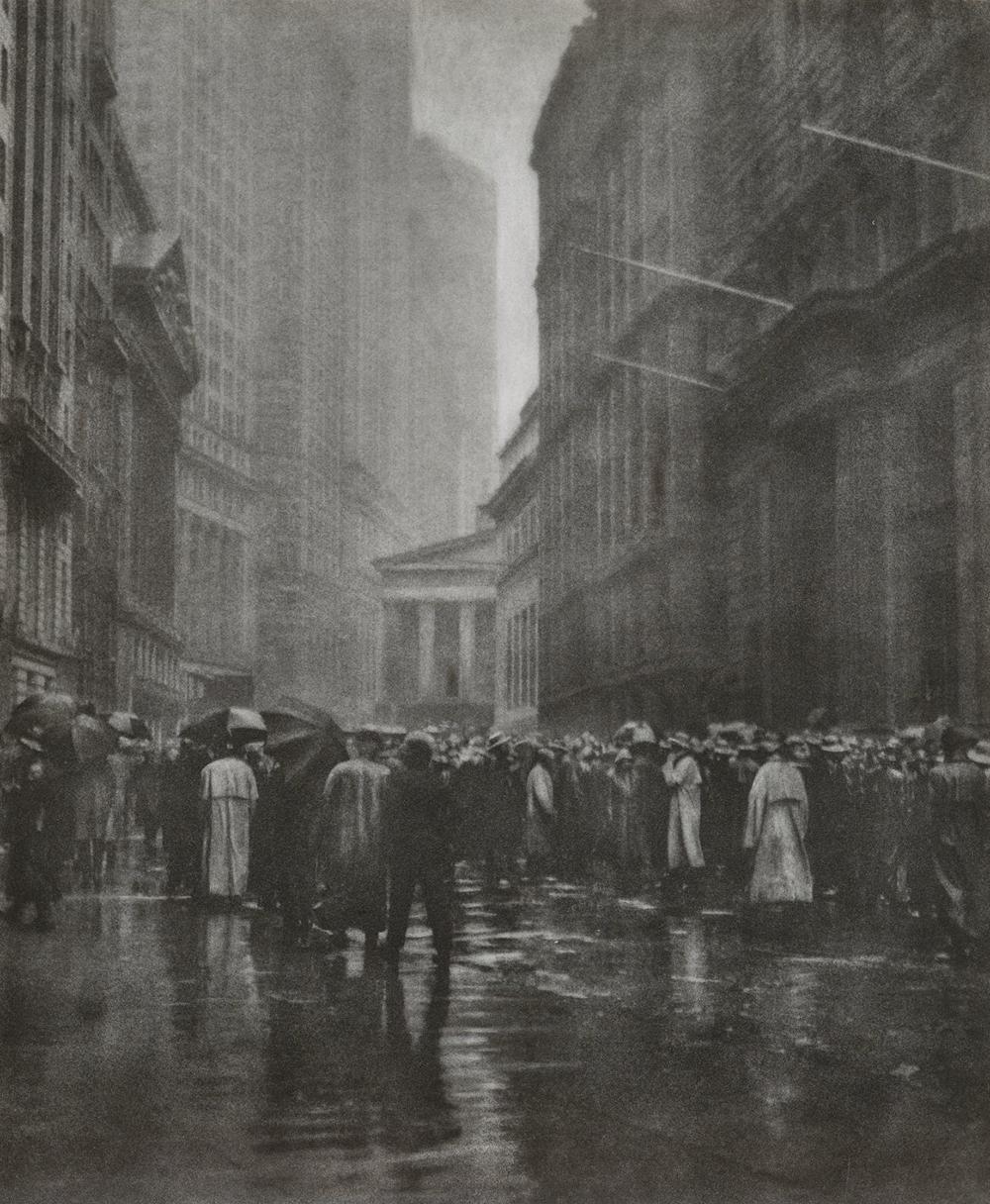 The Curb Market, New York, by Joseph Petrocelli, 1921. Brooklyn Museum, Gift of Mrs. Joseph Petrocelli.