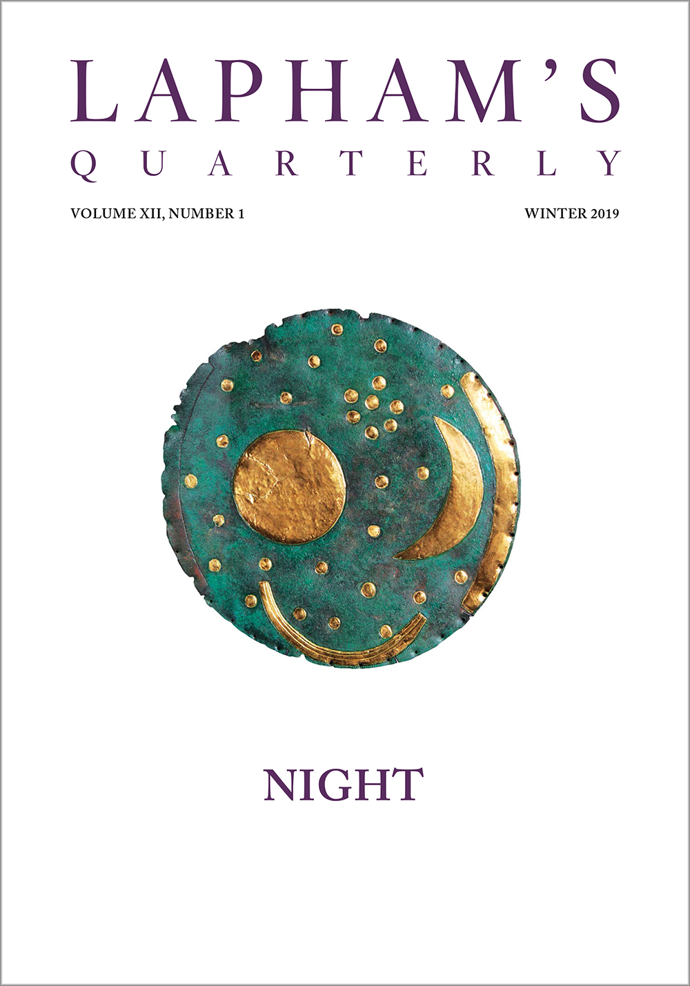 Night, the Winter 2019 issue of Lapham's Quarterly.