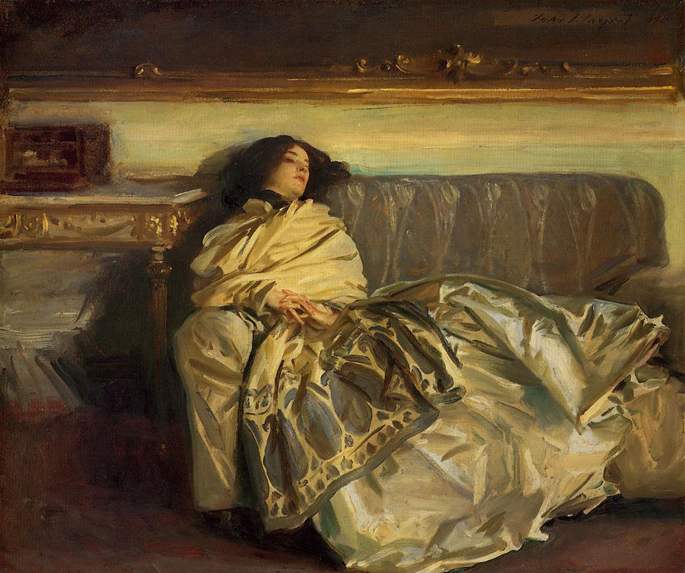 """Nonchaloir (Repose),"" by John Singer Sargent, 1911. © National Gallery of Art; gift of Curt H. Reisinger."