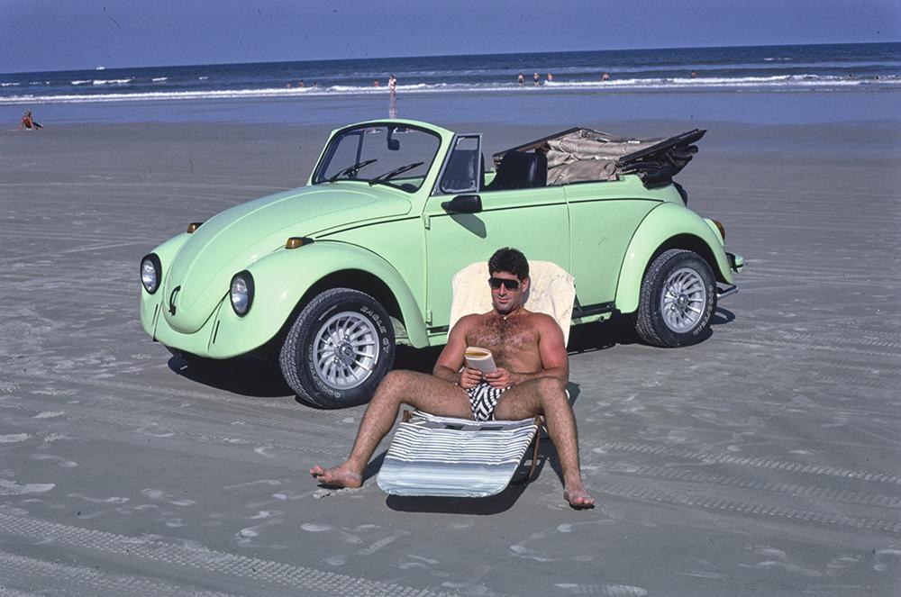 Sunbather, Daytona Beach, Florida, 1985. Photograph by John Margolies. Library of Congress, Prints and Photographs Division.