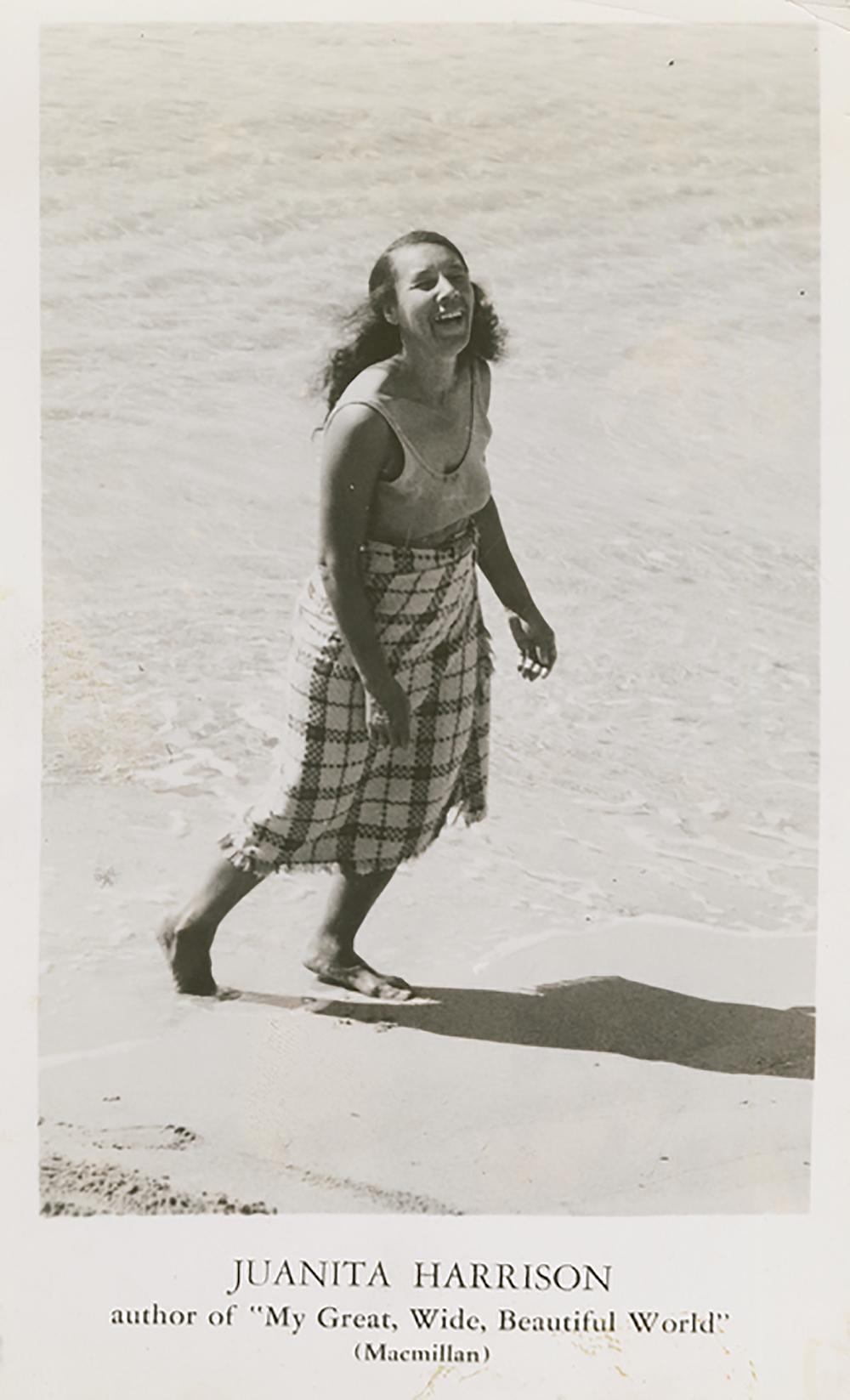 Portrait of Juanita Harrison, c. 1936.