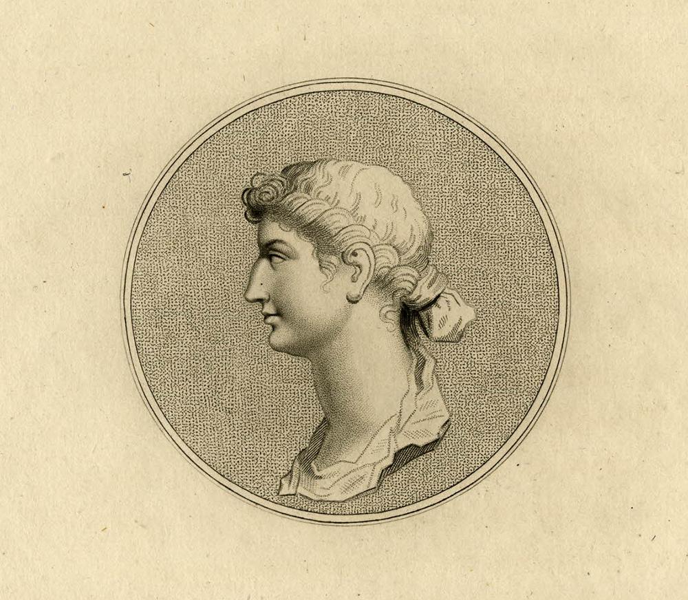 Portrait of Octavia, 1794. © The Trustees of the British Museum.