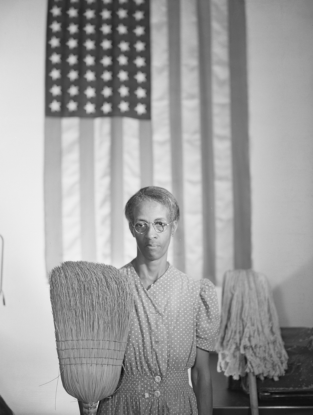 American Gothic, by Gordon Parks, 1942. Library of Congress, Prints and Photographs Division.