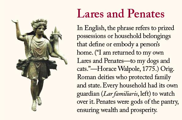 Lares and Penates.