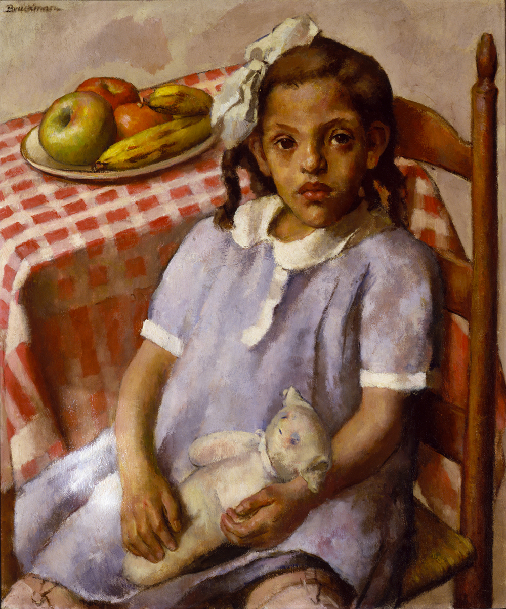 Somewhere in America, painting by Robert Brackman, 1934. Smithsonian American Art Museum, Transfer from the U.S. Department of Labor.