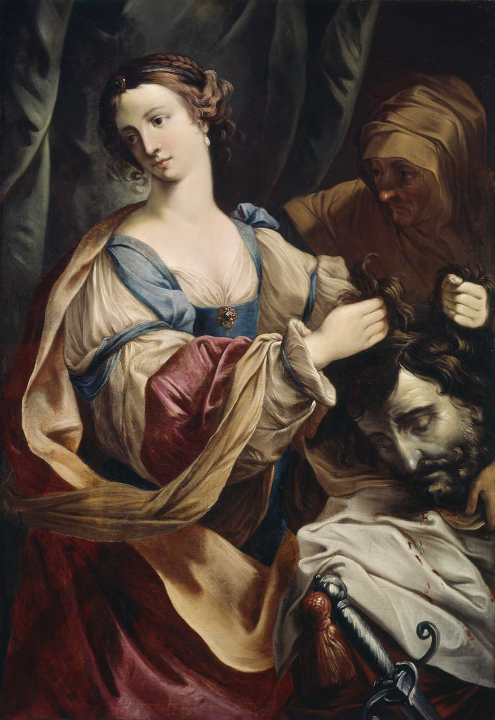 Judith with the Head of Holofernes, by Elisabetta Sirani, c. 1660.