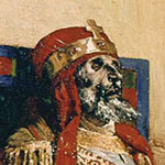 A painting of Pope Formosus