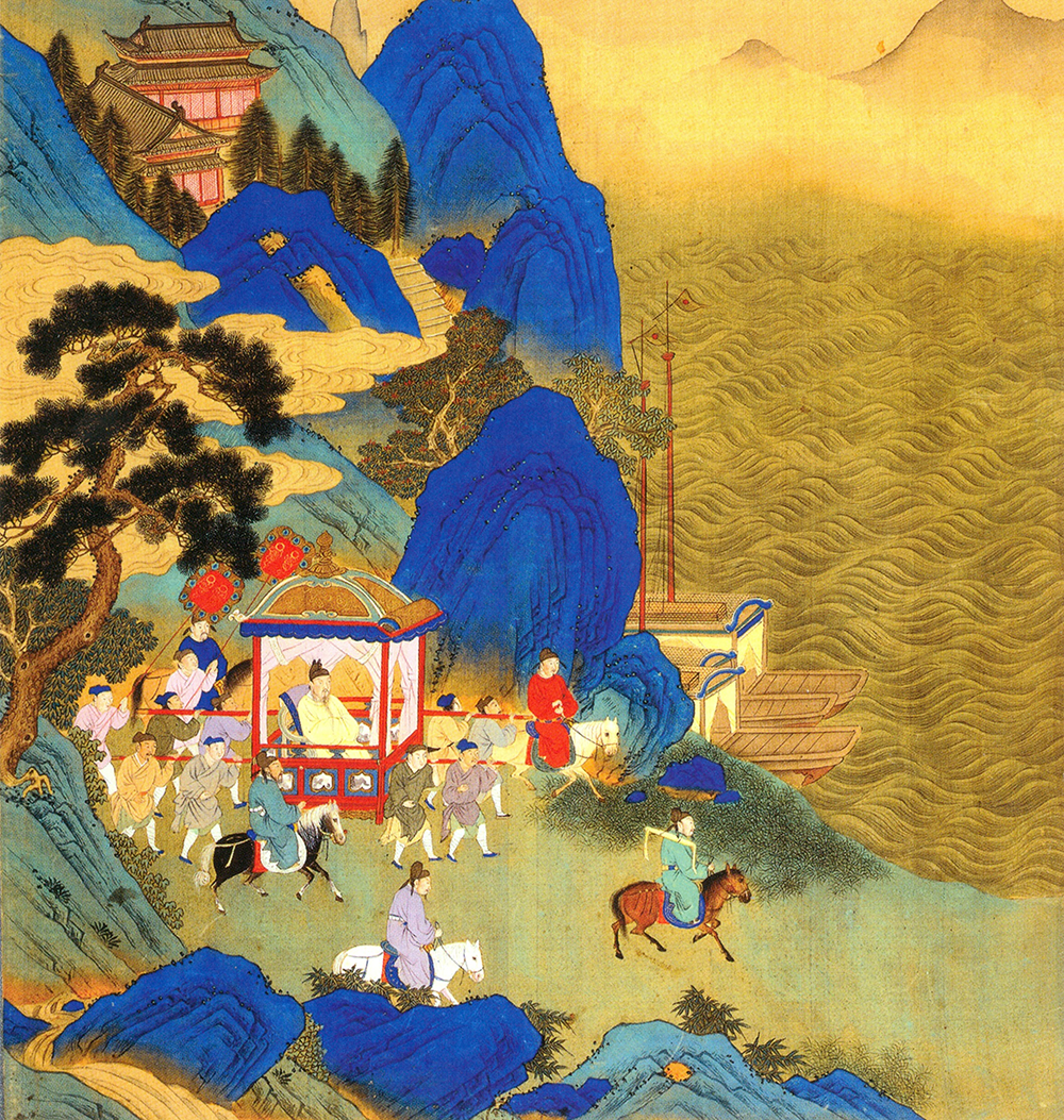 Hexbyte  Hacker News  Computers Qin Shihuang's imperial tour across his empire depicted in an eighteenth-century album.