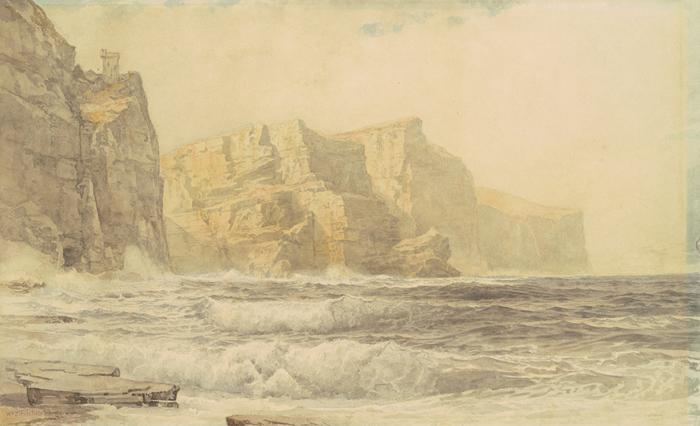 Baldart Castle, County Clare, Ireland, by William Trost Richards, 1892. National Gallery of Art.
