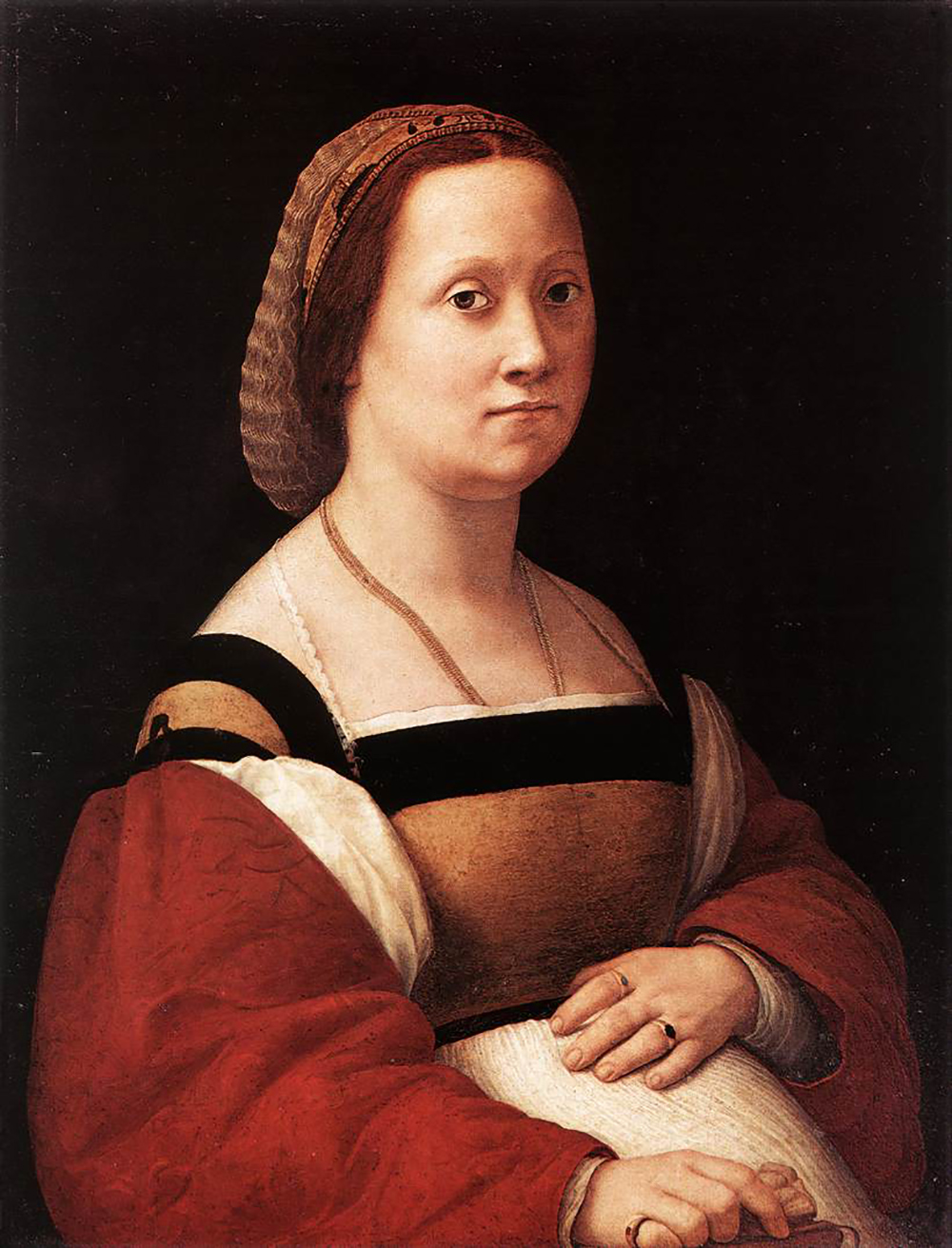 The Pregnant Woman, by Raphael, c. 1505.