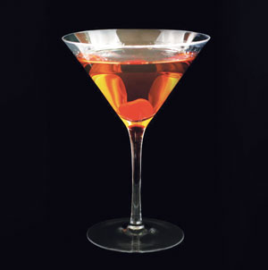 A cocktail.