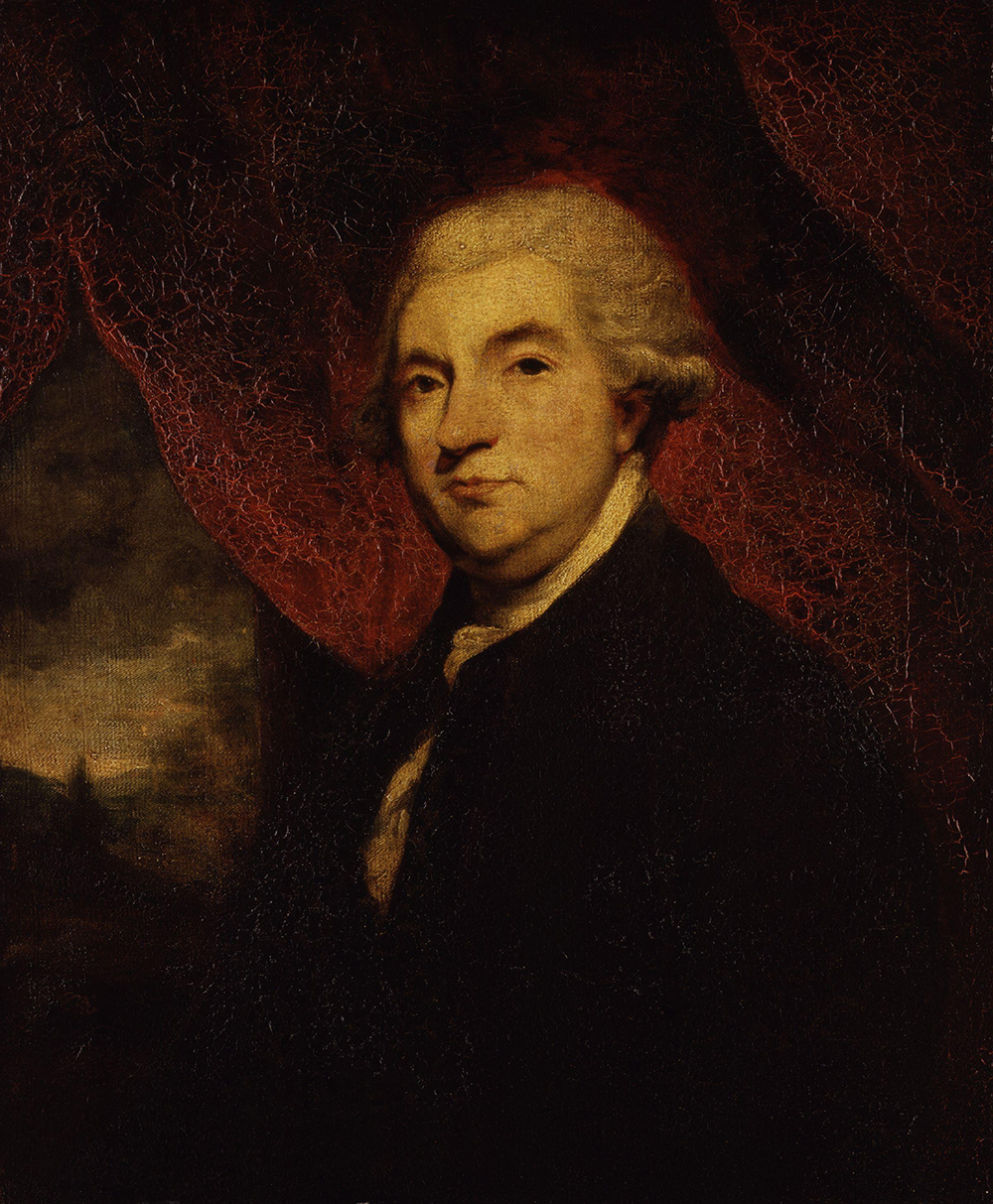 Portrait of James Boswell, by Sir Joshua Reynolds, 1785. National Portrait Gallery, London.