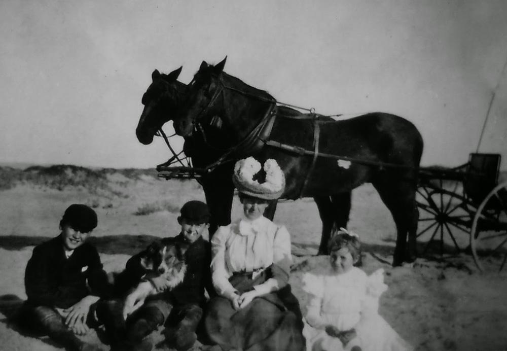 Rindge family, c. 1900.