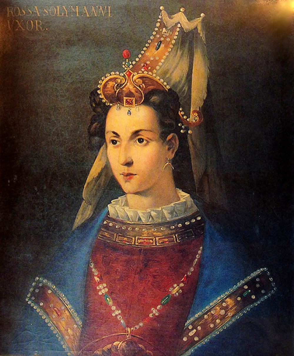 Portrait of Roxelana (1500–1558), c. eighteenth century. Topkapi Palace Museum.