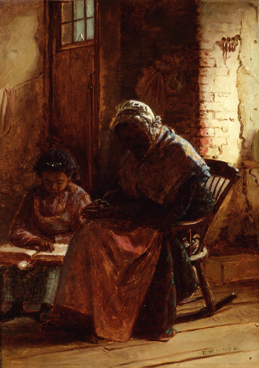 Sunday Morning, by Thomas Waterman Wood, c. 1877.