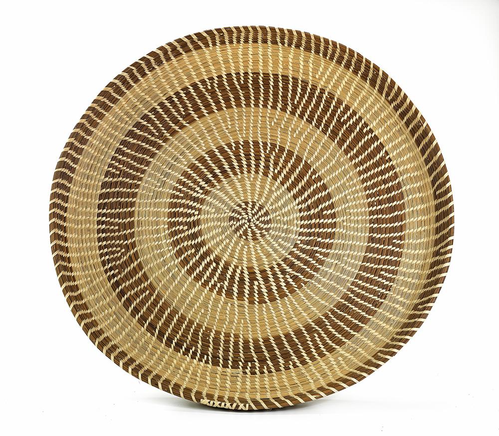 Gullah fanner basket by Lynette Youson, 2002. Smithsonian American Art Museum, Gift of Martha G. Ware and Steven R. Cole, 2011.