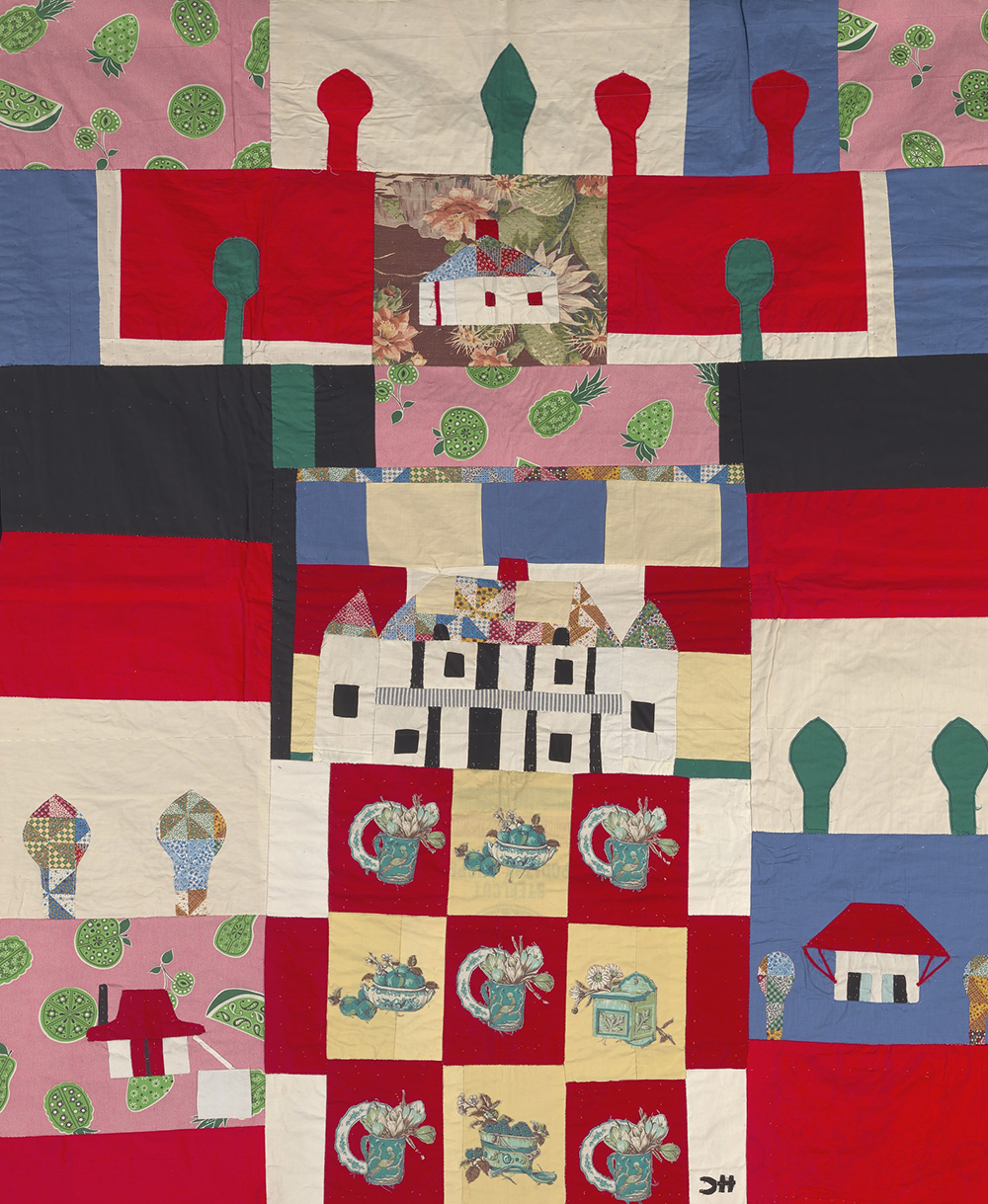 Melrose Quilt, by Clementine Hunter, c. 1960.