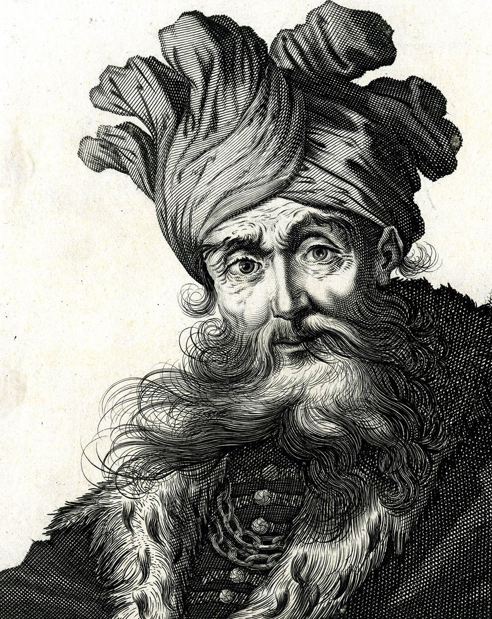 Saladinus Sultanus, by Jérôme David and Claude Vignon, c. 1610. The British Museum.
