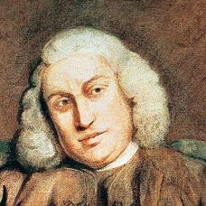 A depiction of Samuel Johnson.