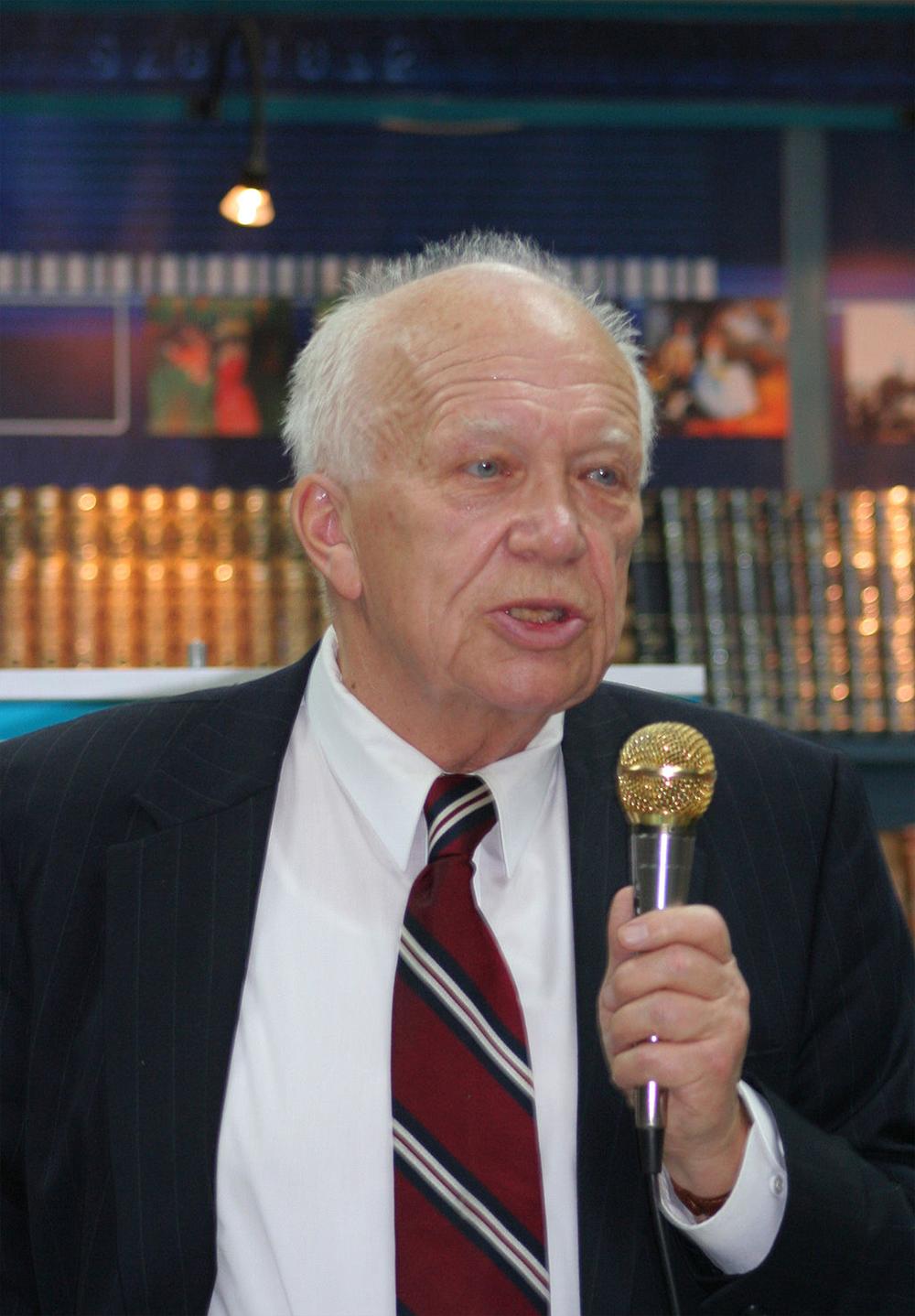 Sergei Khrushchev, 2010. Photograph by A. Savin.