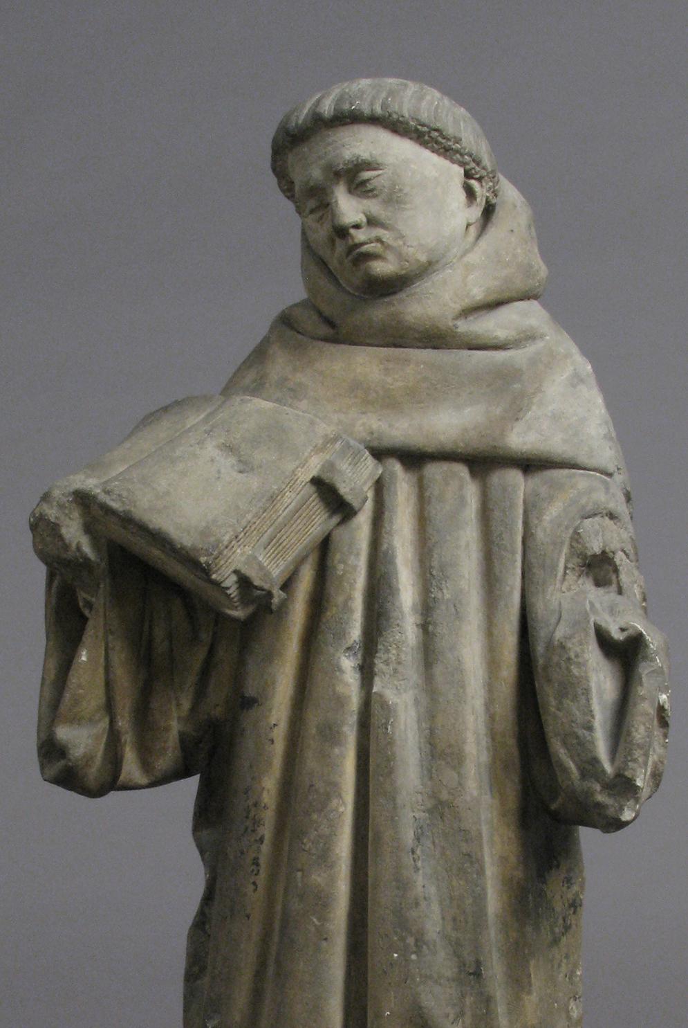 Monk, c. 1400. The Metropolitan Museum of Art, Gift of J. Pierpont Morgan, 1917.