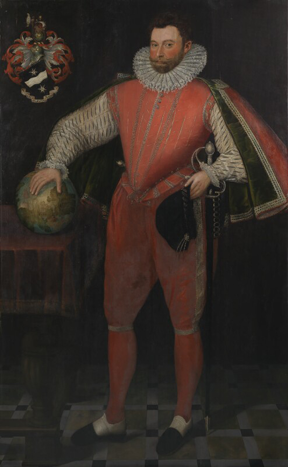 Sir Francis Drake, c. 1581. © National Portrait Gallery, London.