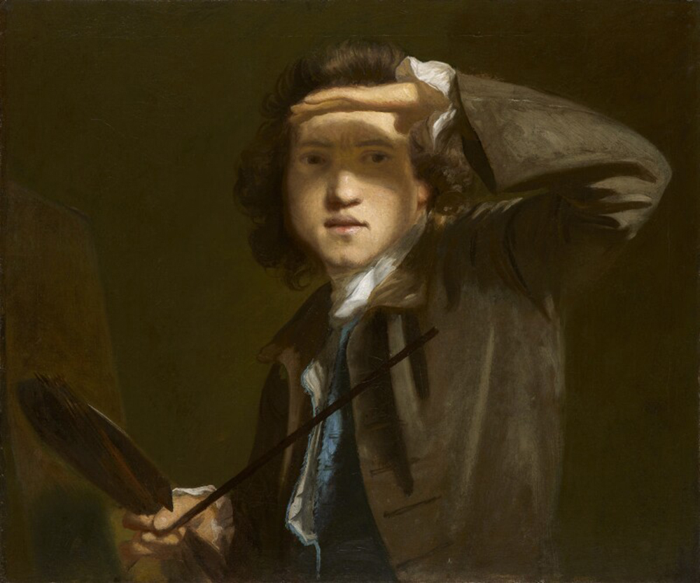 Sir Joshua Reynolds, by Joshua Reynolds, c. 1747. Sir Joshua Reynolds. © National Portrait Gallery, London.