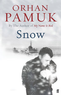 cover art for the book Snow