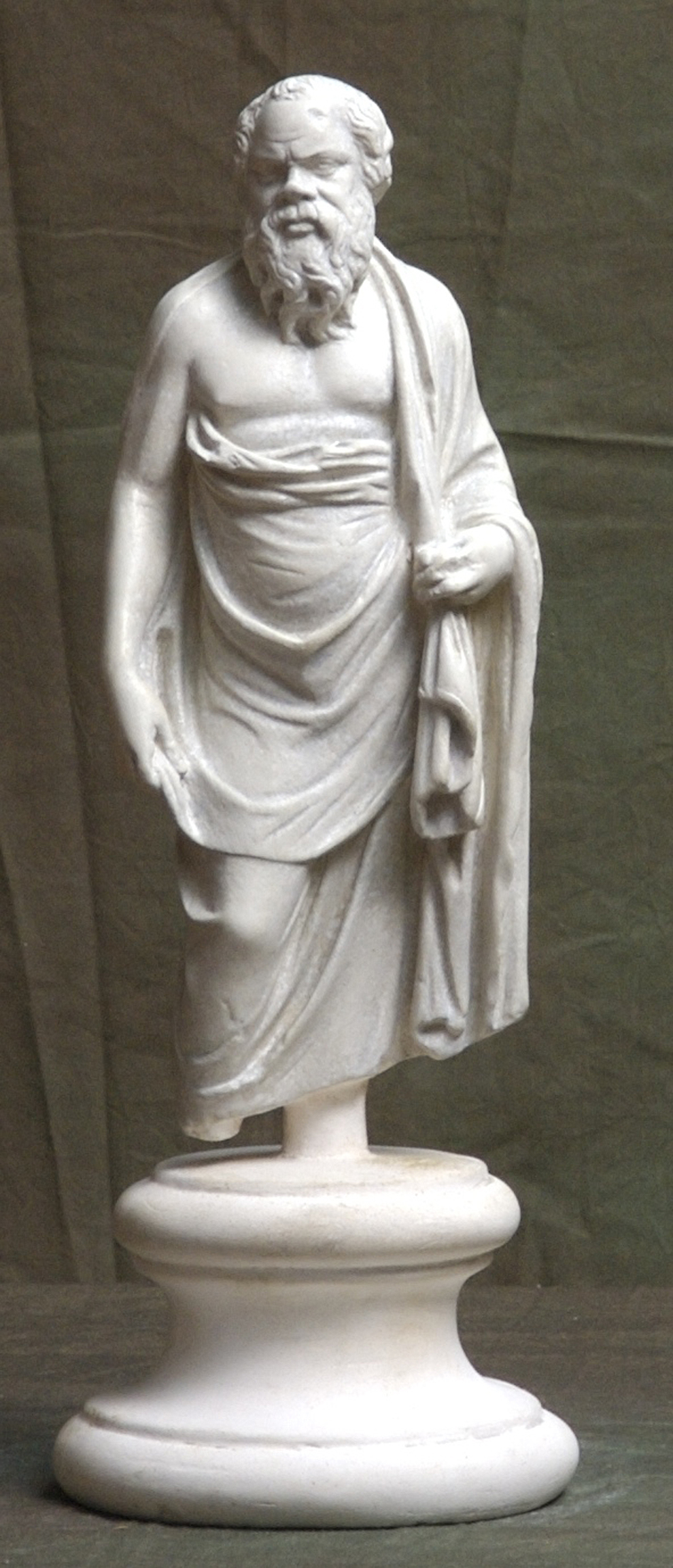 Socrates. University of Cambridge Museum of Classical Archaeology, Purchased from the British Museum in 1928.
