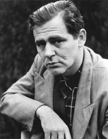 Black and white photograph of American writer James Agee.
