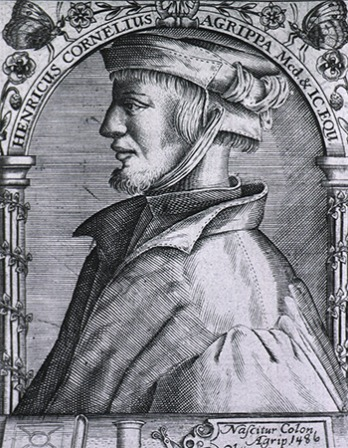 German magician, occult writer, and theologian Heinrich Cornelius Agrippa.