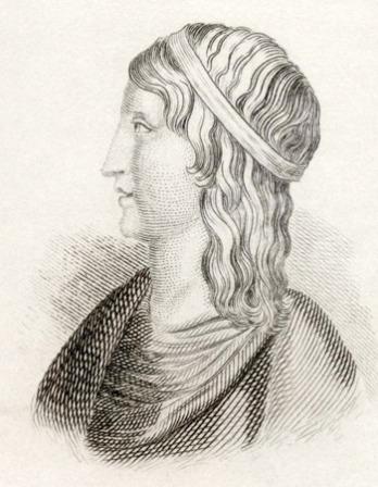 Image of Platonic philosopher, rhetorician, and author Lucius Apuleius.