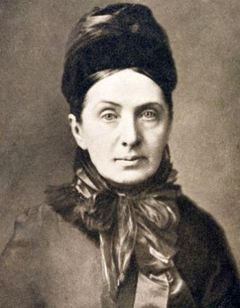 Photograph of traveler and writer Isabella Bird.