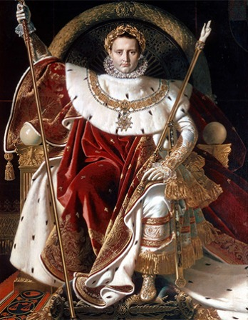 French general and emperor Napoleon Bonaparte.