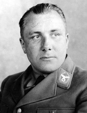German Nazi leader Martin Bormann.