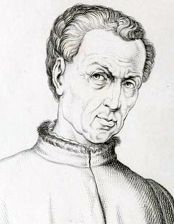 Image of Renaissance humanist and scholar Poggio Bracciolini.
