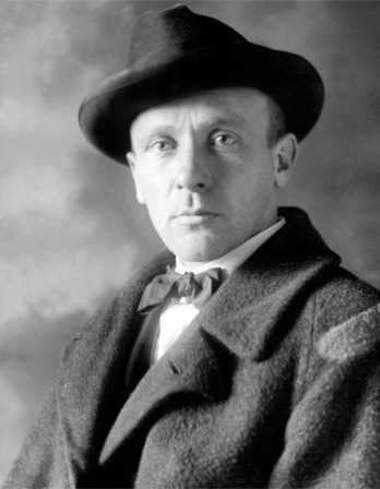 Photograph of Soviet playwright and writer Mikhail Bulgakov.
