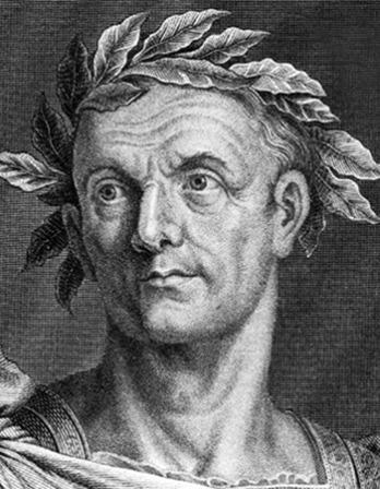 Roman general and ruler Julius Caesar.