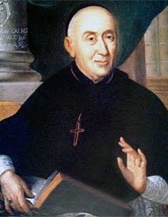 French Benedictine monk Antoine Augustin Calmet.