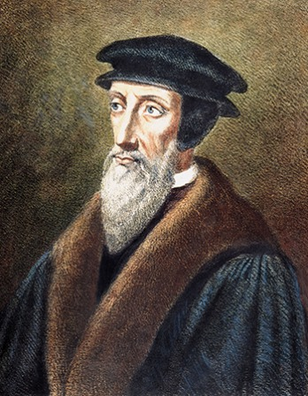 French theologian John Calvin.