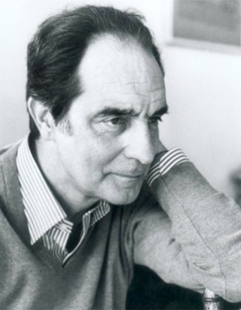 Photograph of Italian writer Italo Calvino.