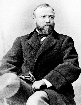 Photograph of Andrew Carnegie