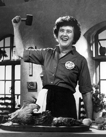 American cook and author Julia Child.