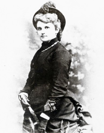 Photograph of American novelist Kate Chopin.