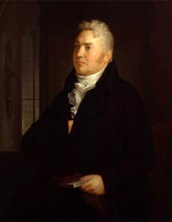 Portrait of English lyrical poet and critic Samuel Taylor Coleridge.