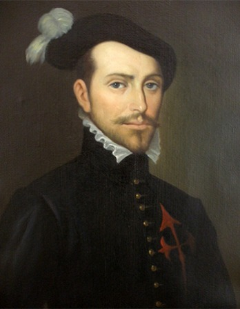 Spanish conquistador Hernán Cortés.