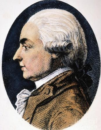 French-American author J. Hector St. John de Crèvecoeur.