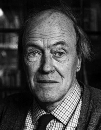 Photograph of British writer Roald Dahl.